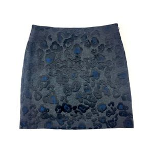 Ann Taylor • Animal-Print Skirt